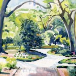 Airlie Gardens Converging Path