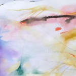 "SOLD ""Sublime"" 18 x 48 watercolor on paper"