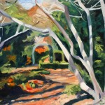 painting of Tanglewood Garden